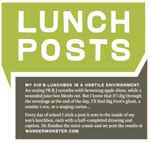 Lunch Post 2012 sign
