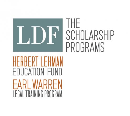 NAACP LDF scholarship logos