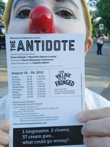 postcard for Antidote