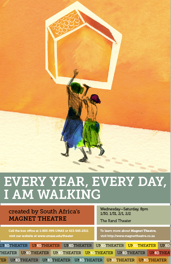 Every Year Every Day I Am Walking