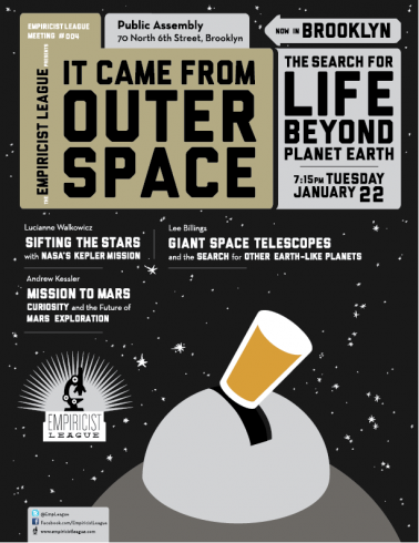 Empiricist League Event: It Came From Outer Space