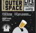 poster for the fourth Empiricist League Event: It Came From Outer Space: beer and science in Brooklyn!