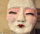 Wondrous Tales of Old Japan Yuki Onna Mask