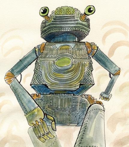 Giant Robot Frog